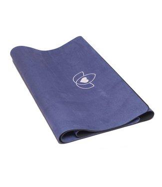 Lotus Yogamat travel opvouwbaar indigopaars – Lotus
