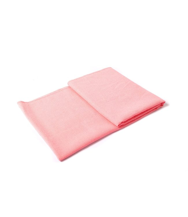 Lotus Yoga handdoek antislip roze - Lotus