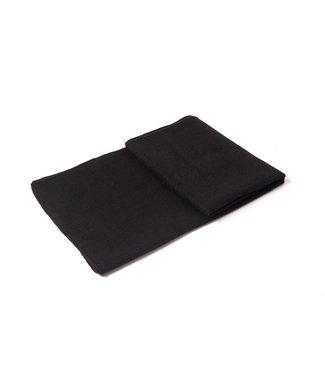 Lotus Yoga handdoek antislip zwart - Lotus