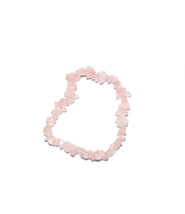 Pure Rozenkwarts split armband - Pure