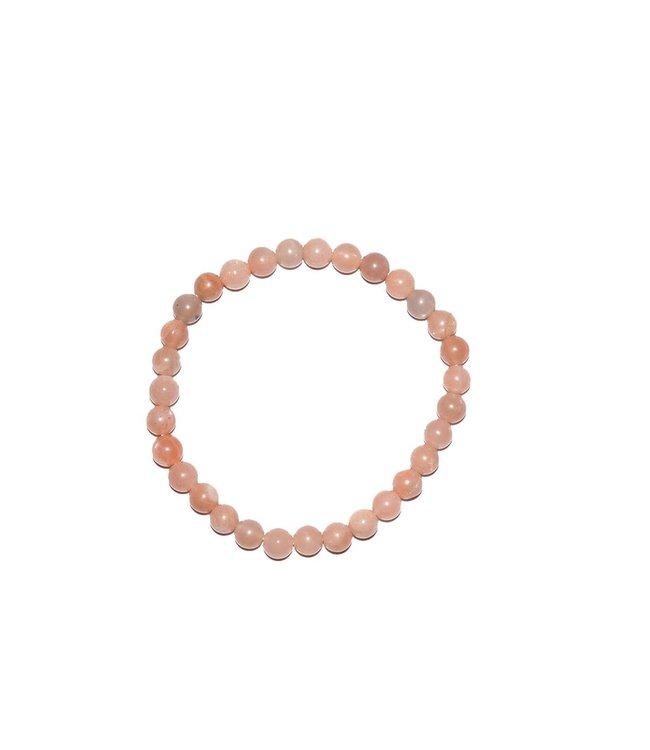 Pure Roze maansteen armband - Pure
