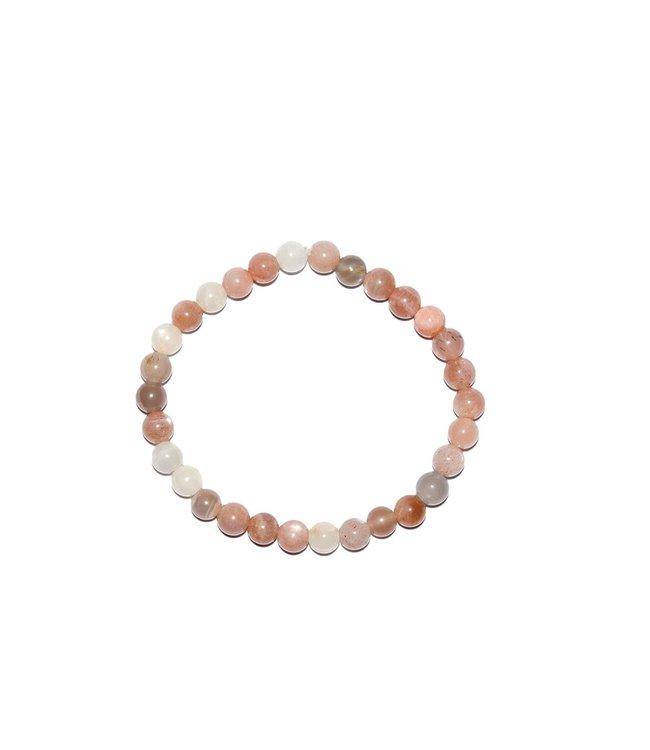 Pure Meerkleurig maansteen armband - Pure