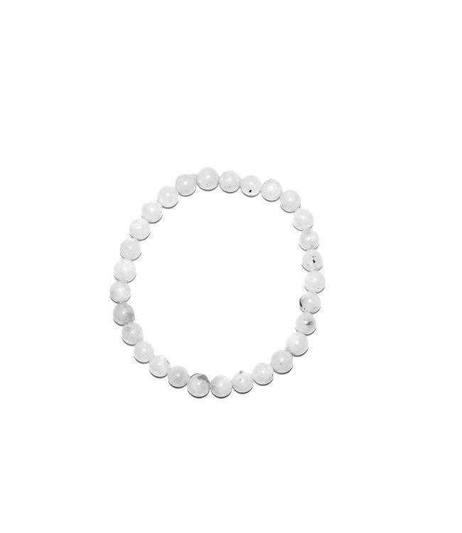 Pure Regenboog maansteen armband - Pure