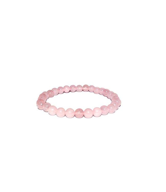 Pure Rozenkwarts armband - Pure