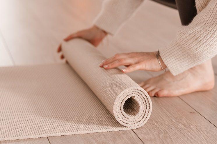 Verbeter zelf de grip van je yogamat