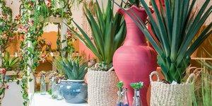 Künstliche Hängepflanzen