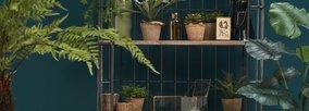 Mit künstlichen Hängepflanzen Ihr Heim dekorieren