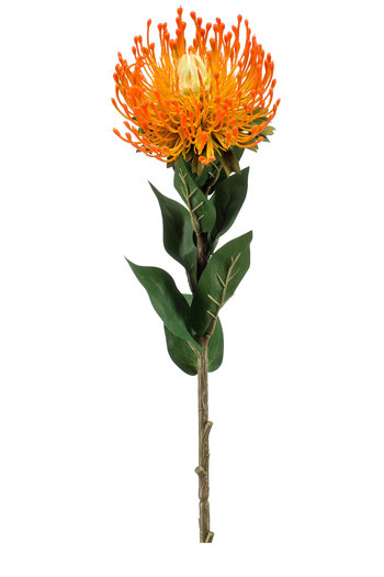 "Kunstblume ""Nutans"" gelb/orange 72 cm"