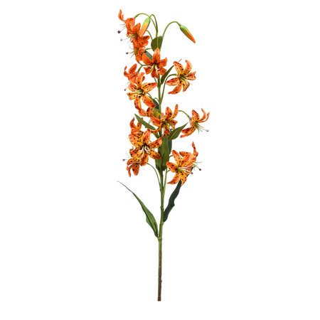 "Kunstblume ""Lilie"" orange 80 cm"