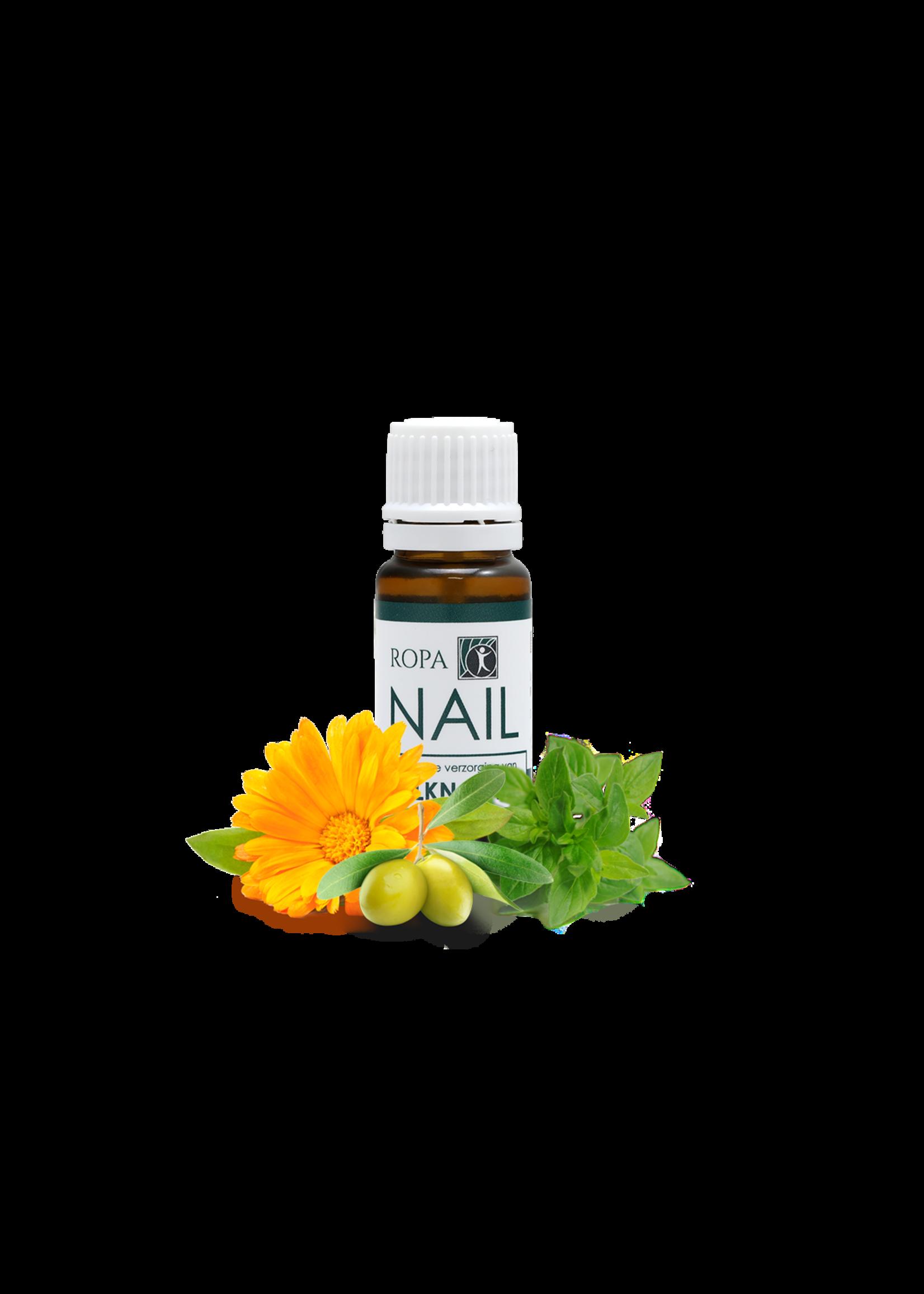 RopaNAIL - 100 % natuurlijke kalknagel olie voor dagelijkse verzorging - 10 ml