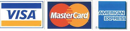 Logo Mastercard Visa American Express