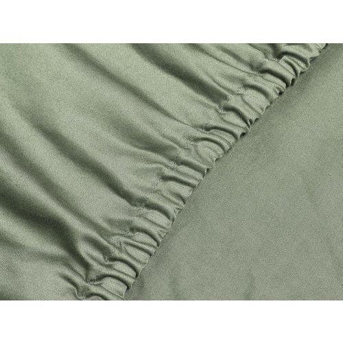 Yumeko Hoeslaken washed katoen satijn (biologisch)