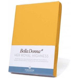Formesse Bella Donna hoeslaken Jersey goudgeel