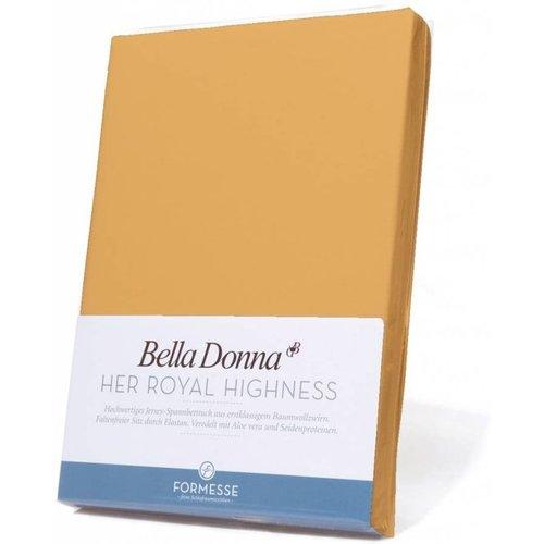 Formesse Bella Donna hoeslaken Jersey safraan
