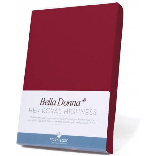 Formesse Bella Donna hoeslaken Jersey karmijnrood