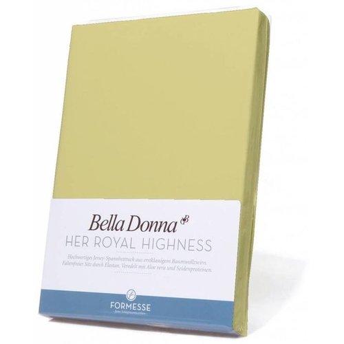 Formesse Bella Donna hoeslaken Jersey limoen