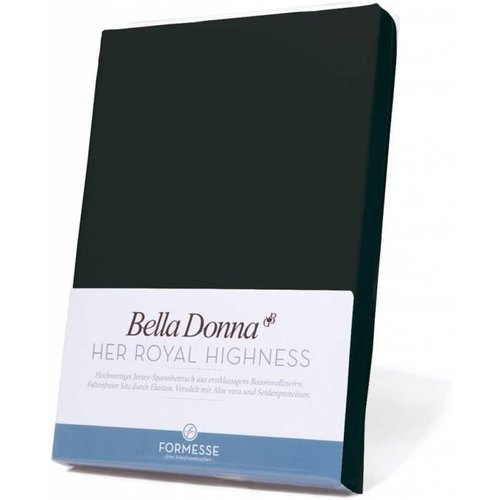 Formesse Bella Donna hoeslaken Jersey zwart