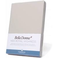 Bella Donna hoeslaken Jersey zilver