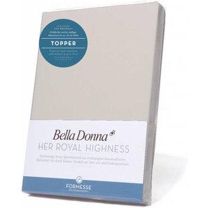 Formesse Bella Donna La Piccola topper hoeslaken Jersey zilver