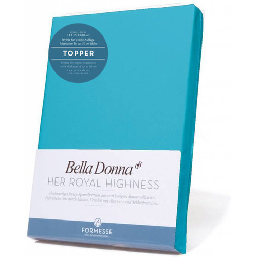 Formesse Bella Donna La Piccola topper hoeslaken Jersey turqiose
