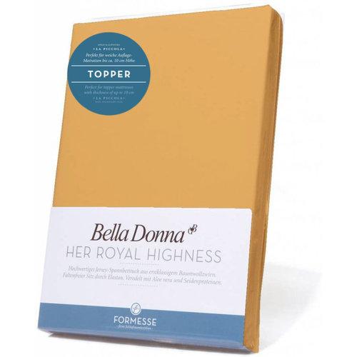 Formesse Bella Donna La Piccola topper hoeslaken Jersey saffraan