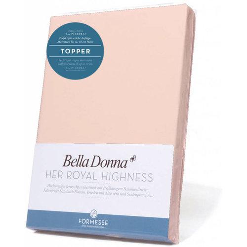 Formesse Bella Donna La Piccola topper hoeslaken Jersey roze
