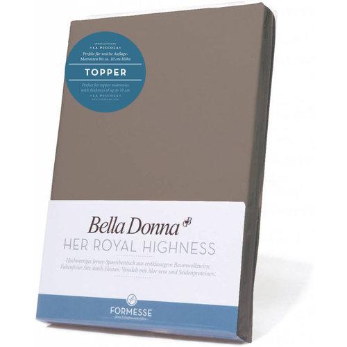Formesse Bella Donna La Piccola topper hoeslaken Jersey platina