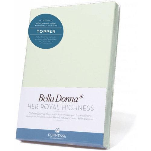 Formesse Bella Donna La Piccola topper hoeslaken Jersey pastelgroen