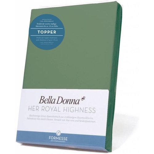 Formesse Bella Donna La Piccola topper hoeslaken Jersey olijf