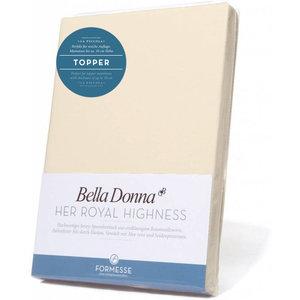 Formesse Bella Donna La Piccola topper hoeslaken Jersey natuur