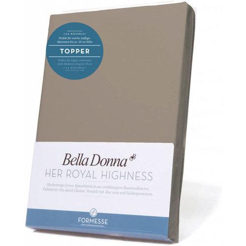 Formesse Bella Donna La Piccola topper hoeslaken Jersey muskaat