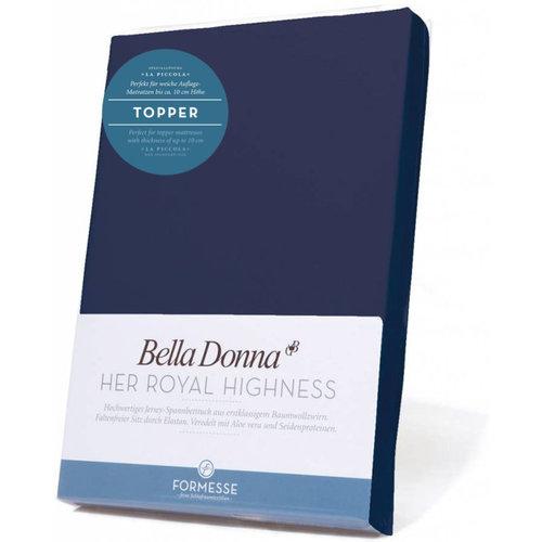 Formesse Bella Donna La Piccola topper hoeslaken Jersey marine
