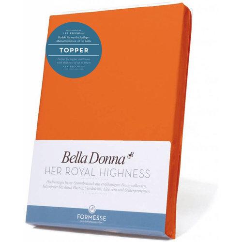 Formesse Bella Donna La Piccola topper hoeslaken Jersey mango