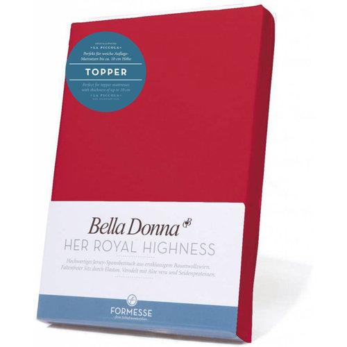 Formesse Bella Donna La Piccola topper hoeslaken Jersey magenta