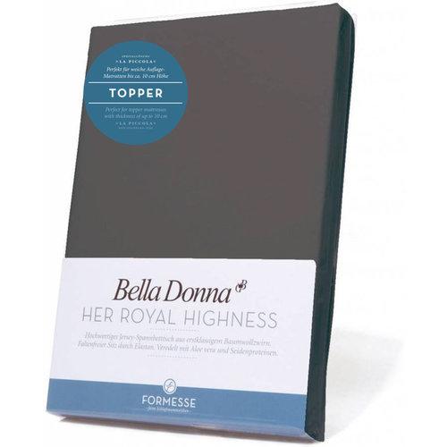 Formesse Bella Donna La Piccola topper hoeslaken Jersey lichtantraciet