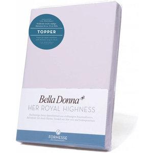 Formesse Bella Donna La Piccola topper hoeslaken Jersey lavendel