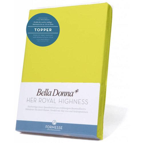 Formesse Bella Donna La Piccola topper hoeslaken Jersey kiwi