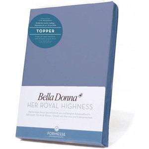 Formesse Bella Donna La Piccola topper hoeslaken Jersey jeansblauw