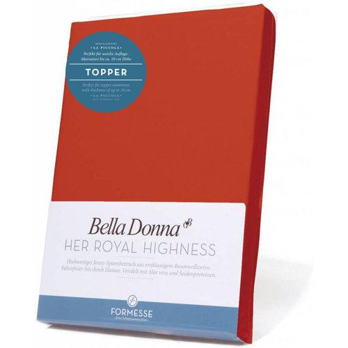 Formesse Bella Donna La Piccola topper hoeslaken Jersey java