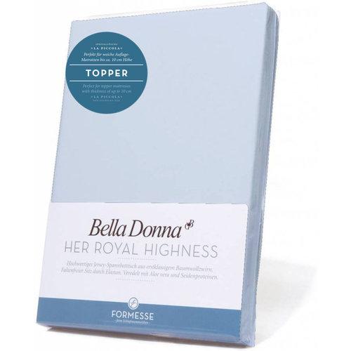 Formesse Bella Donna La Piccola topper hoeslaken Jersey hemelsblauw