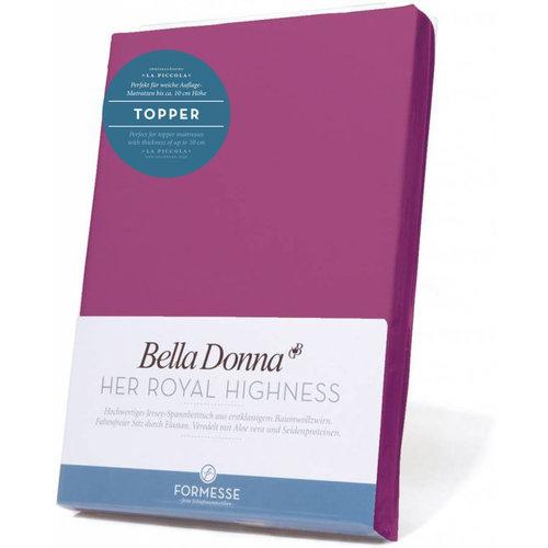 Formesse Bella Donna La Piccola topper hoeslaken Jersey fushia