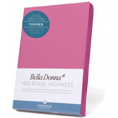 Formesse Bella Donna La Piccola topper hoeslaken Jersey flamingo