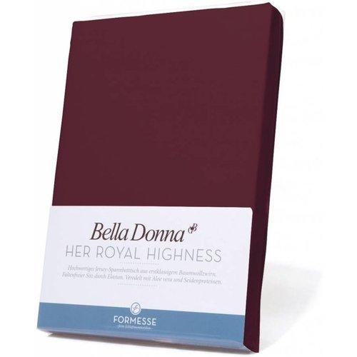 Formesse Bella Donna hoeslaken Jersey cabernet