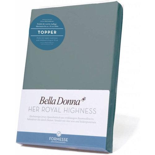 Formesse Bella Donna La Piccola topper hoeslaken Jersey cement
