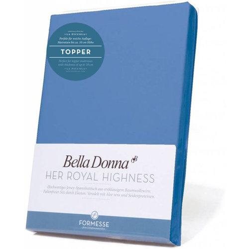 Formesse Bella Donna La Piccola topper hoeslaken Jersey azuur