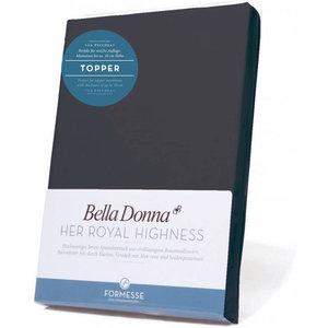 Formesse Bella Donna La Piccola topper hoeslaken Jersey antraciet