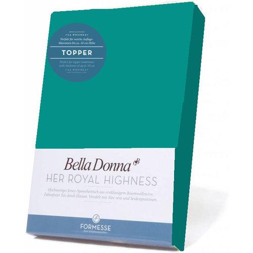 Formesse Bella Donna La Piccola topper hoeslaken Jersey aquamarijn