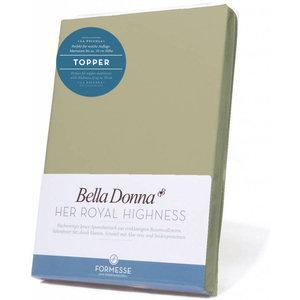Formesse Bella Donna La Piccola topper hoeslaken Jersey pistache