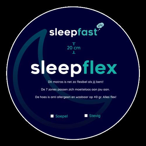 Sleepfast Matras Sleepflex Koudschuim