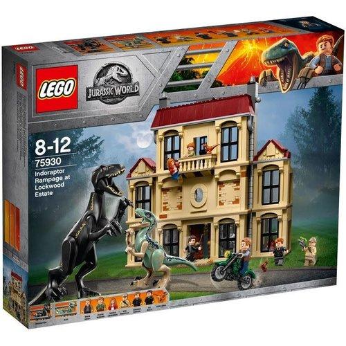LEGO Jurassic World 75930 Indoraptorchaos bij Lockwood Estate